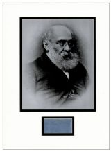 Anthony Trollope Autograph Signed Display